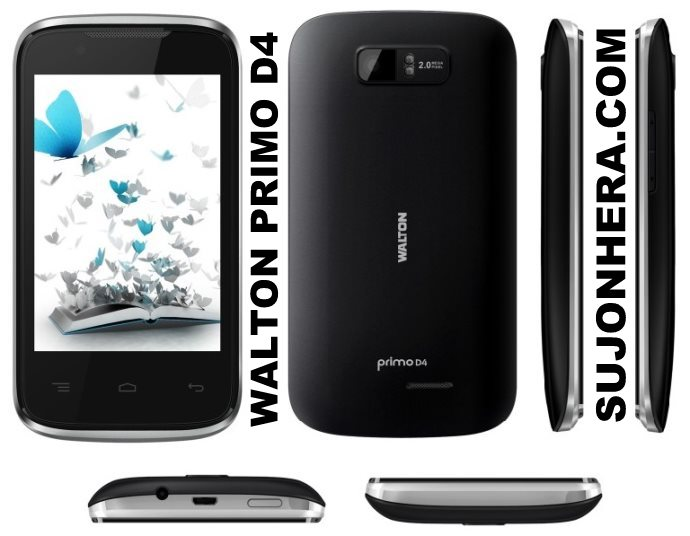 Walton Primo D4: Android Phone Full Specifications & Price