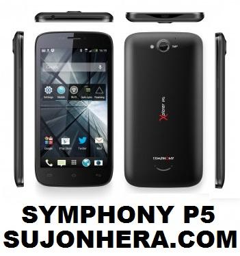 Symphony Xplorer P5 Full Phone Specifications & Price