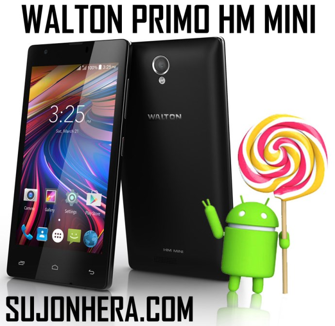 Walton Primo HM Mini Android Phone Full Specifications & Price