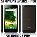 Symphony Xplorer H58: Full Phone Specifications & Price