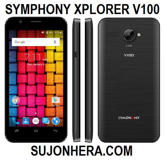 Symphony Xplorer V100 Full Phone Specifications & Price