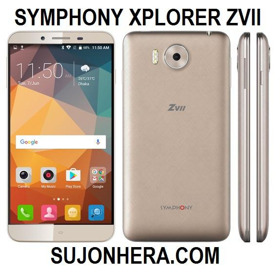 Symphony Xplorer ZVII Full Phone Specifications & Price