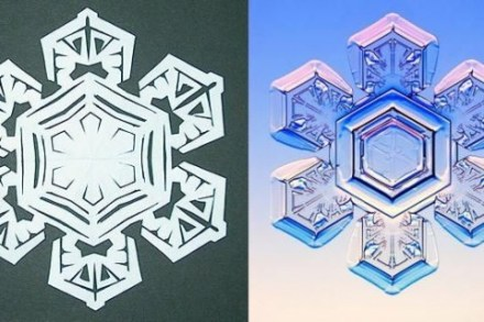 Best 3d paper snowflakes templates #diy #craft #snowflake #howtomake #paper #art #decoration