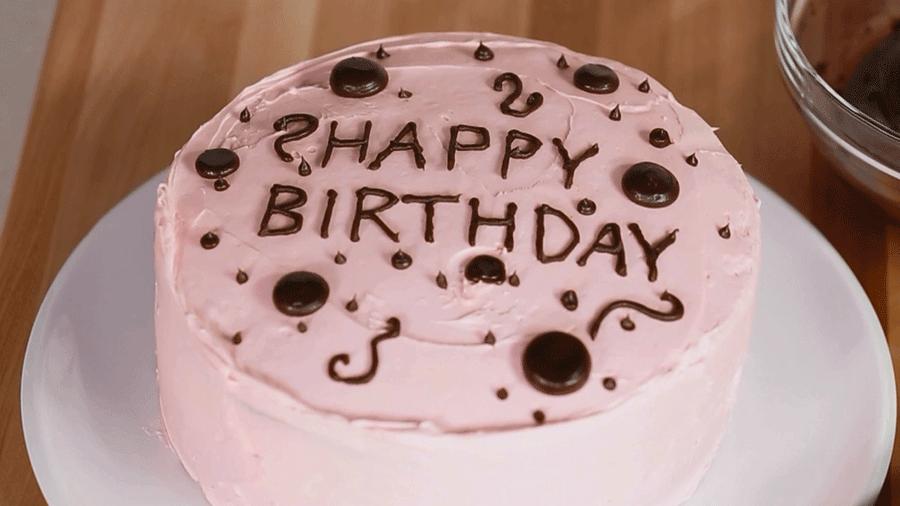 16 Contoh Model Gambar Kue Ulang Tahun Lucu Unik Kreatif