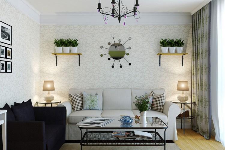 hiasan dinding ruang tamu