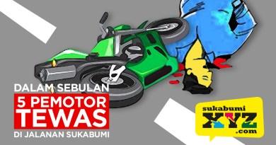 OMG! 5 pemotor tewas di jalanan Sukabumi selama September 2020
