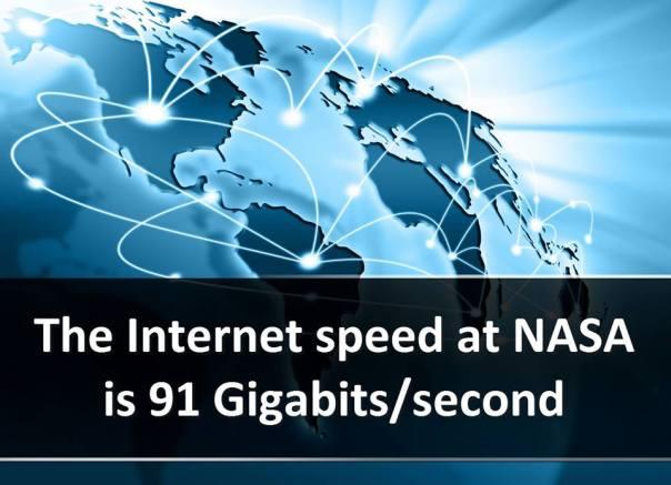 Kelajuan Internet Nasa