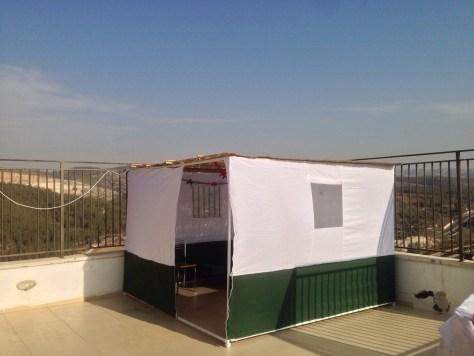 Sukah We build in Bait Shemesh