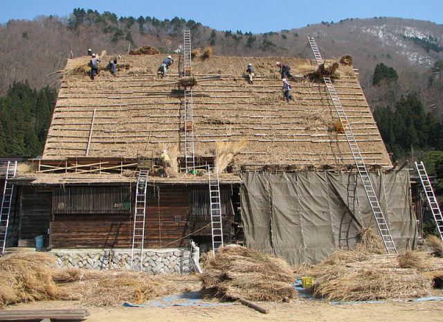 Tradisi Penggantian Atap Shirakawago