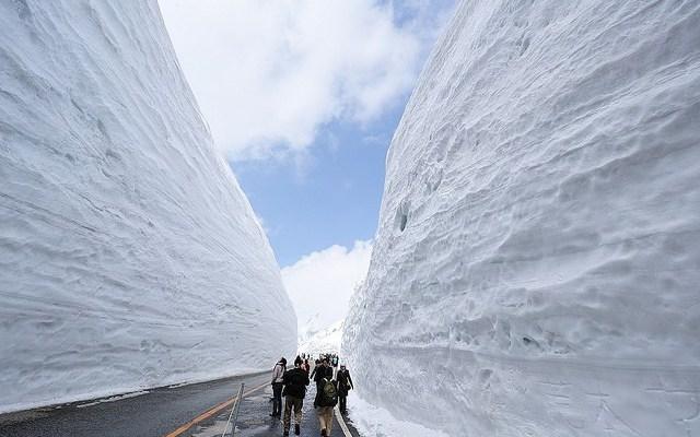Wisata Tateyama Kurobe Alpine Route