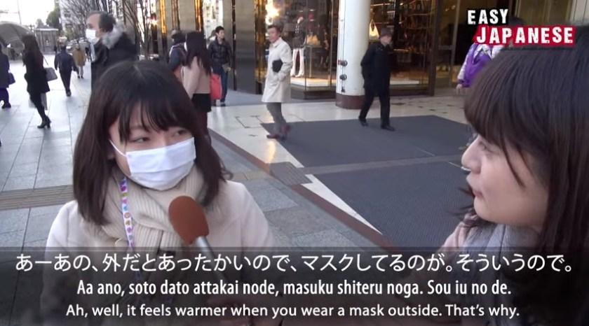 why do japanese wear masks 1