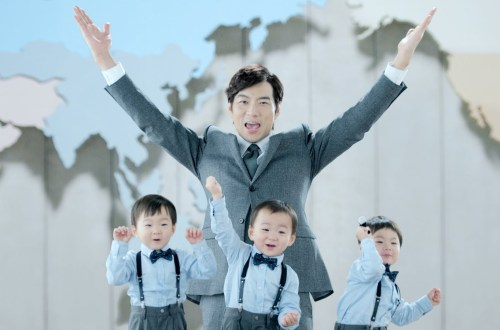SukaKorea Tiga Anak Lucu Unik