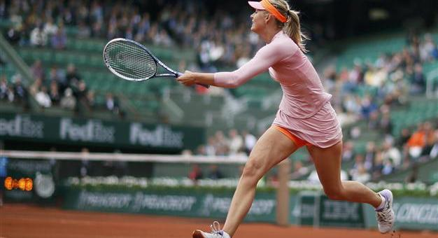 Si Cantik Maria Sharapova Hampiri Kejuaraan