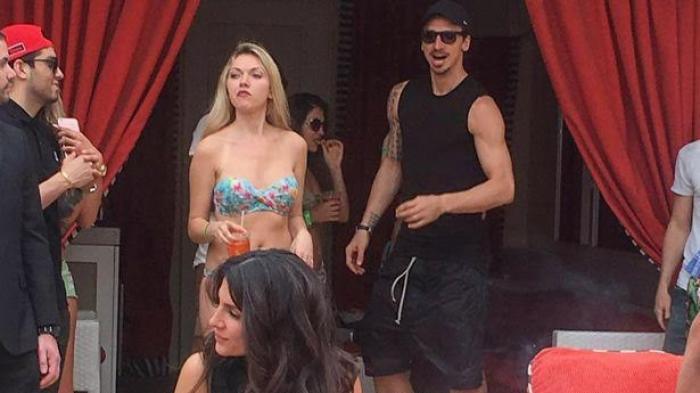 Gambar Zlatan Ibrahimovic Berpesta Di Vegas Dengan Wanita Seksi 6