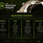 8 Pasukan Mendapat Jemputan Terus Ke Boston Major