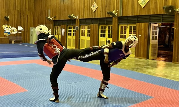 Taekwondo coach now pleased with face-to-face training