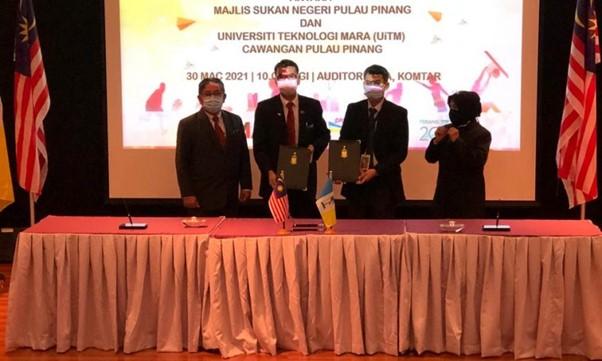 MSNPP dan UiTM Pulau Pinang meterai MoU, sedia laluan khas atlet sambung pengajian