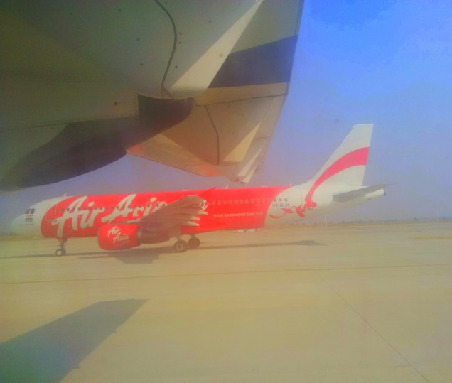 Bright and Red- Airasia