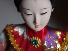 Close up Qing Dynasty Doll