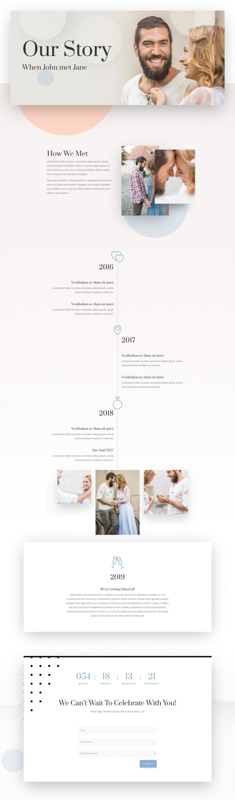 wedding engagement story page scaled