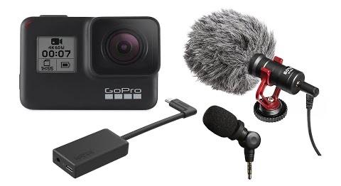 📹 VLog: Выбираем микрофон для GoPro