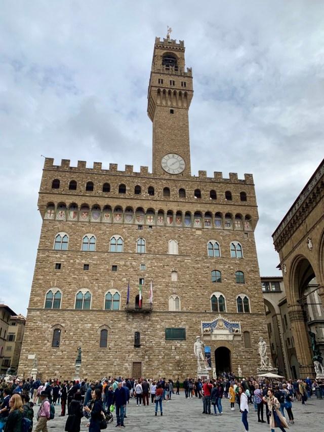 Палаццо Веккіо (Palazzo Vecchio), Florence, Italy