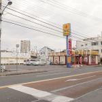 松屋水戸東原店建物周辺
