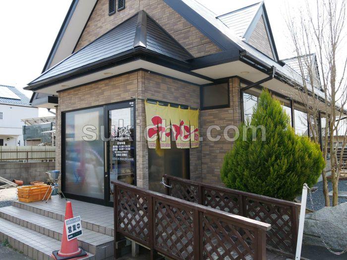麺屋天海水戸建物・入口
