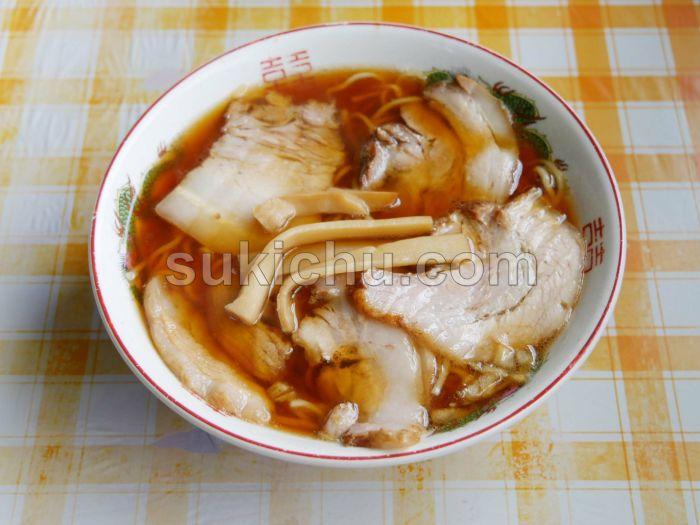 中華そばすずき水戸チャーシューメン