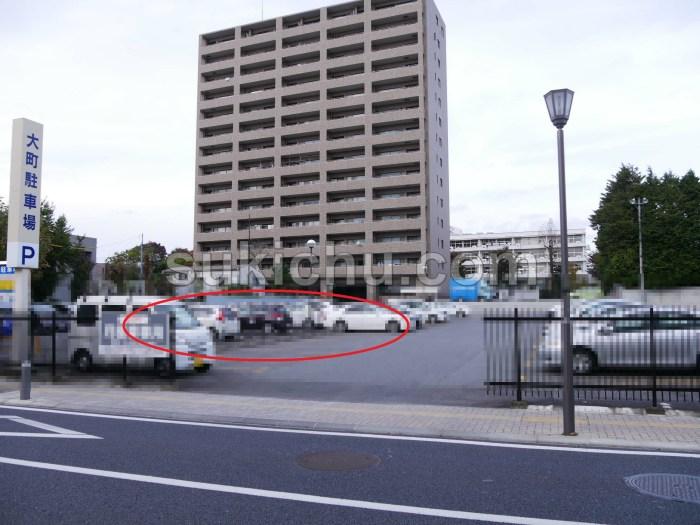 焼肉冷麺新月苑水戸駐車場