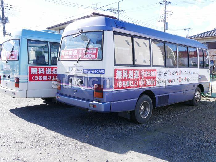 魚旬がんこ屋笠原店水戸送迎バス