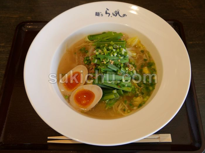 麺'sら・ぱしゃ水戸塩韮麺