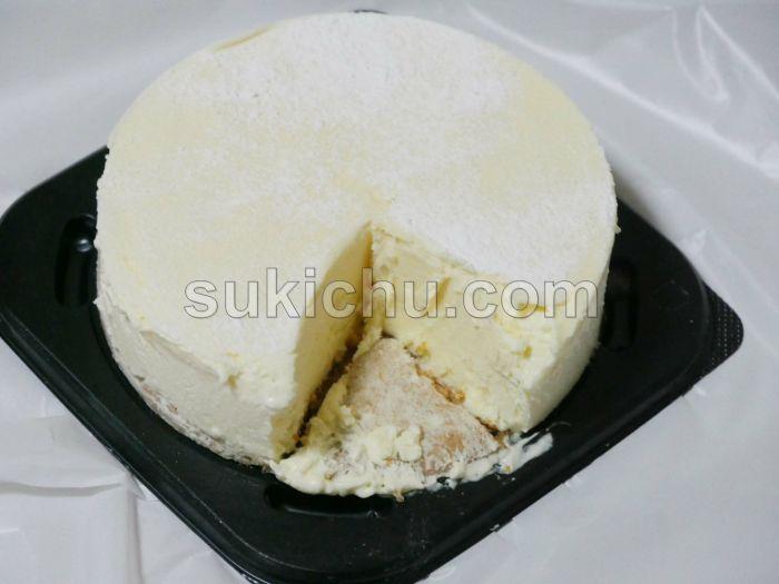 スイーツファーム工場直売会特濃レアチーズケーキ