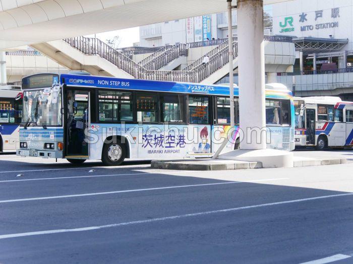 「茨城空港×茨 ひより」ラッピングバス
