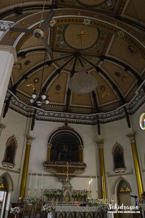 Holy Rosary Church Wat Kalawar Bangkok Thailand