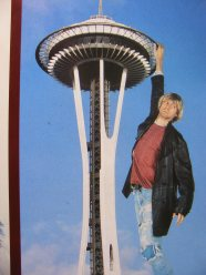 Up on the Space Needle -Not my photo
