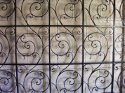 wrought iron screen, UWA