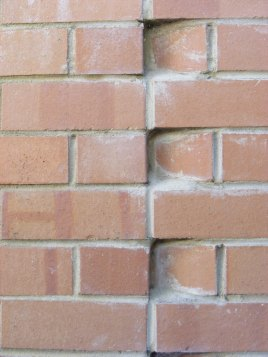 angled wall