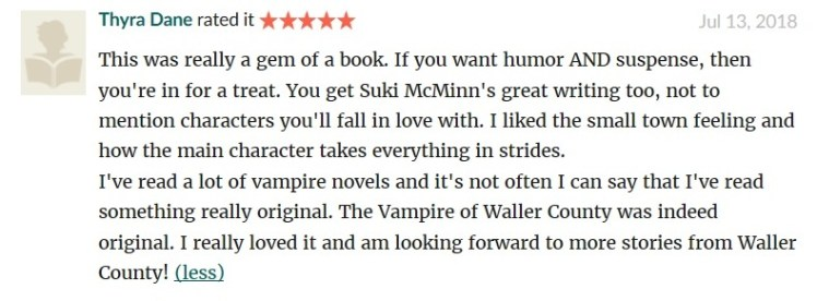 the vampire screenshot goodreads review 1 from Thyra cropped
