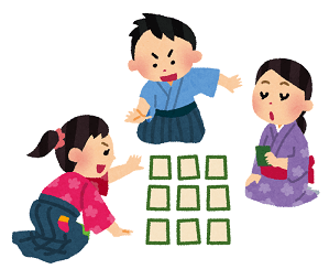 Karuta(Japanese new year's game)
