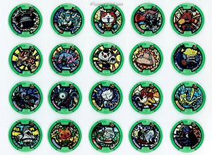 Yo-kai Watch Medals