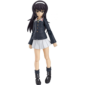 Girls und Panzer Action Figure Mako
