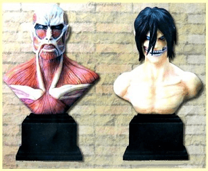 Attack on Titan Titans figure