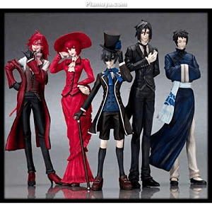 Black Butler Action Figure on Plamoya