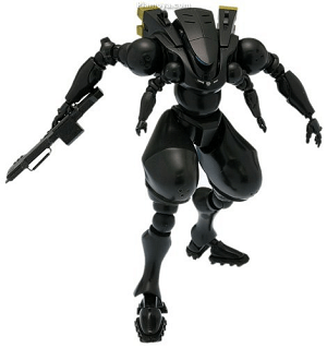 Ghost in the Shell MSDF Type 303 Arm Suit Black