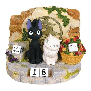 Kiki's Delivery Service Jiji and Lily Years Calendar