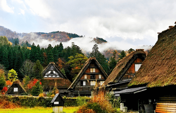 Shirakawago in Gifu