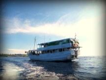 Kapal Menami yang dibawa langsung oleh WWF