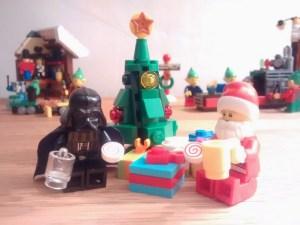 Darth Vader and Santa Claus