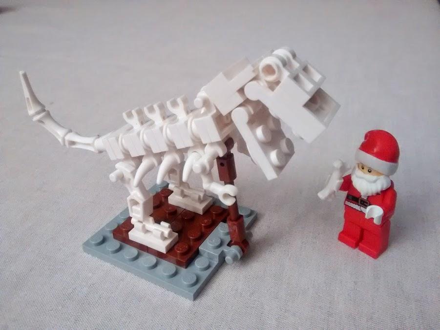 Santa and the T-Rex